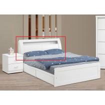 V352純白5尺床頭