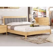 丹肯5尺雙人床(XS004-1)(床架型)(不含床頭櫃)