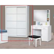 T63-3純白鋁條4.6尺衣櫥