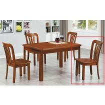 106實木餐椅(單只)