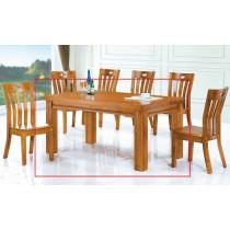 (910)5尺實木餐桌