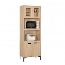 斯麥格2X6尺高餐櫃/碗盤櫃