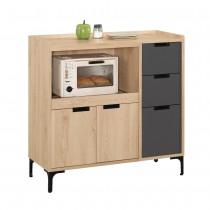 斯麥格3尺餐櫃/碗盤櫃