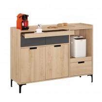 斯麥格4尺餐櫃/碗盤櫃
