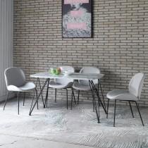 亞格4.3尺石面餐桌(不含椅)