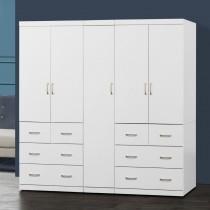 阿諾德 7 X 7尺白色衣櫥/衣櫃
