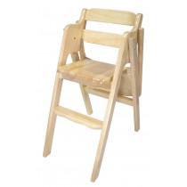 E303白橡色折合寶寶椅(板面)