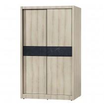 亞倫4X7尺推門衣櫥/衣櫃