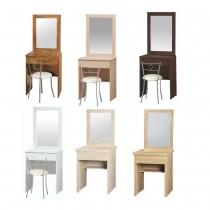 可愛2.7尺二抽鏡台(共六色)(不含椅)