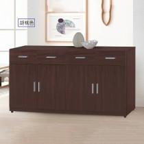 799型5.3尺餐櫃/碗盤櫃(下座)(共兩色)