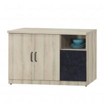 亞倫4尺餐櫃/碗盤櫃(710-1)(木面)