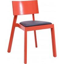 952餐椅(紅,藍,原木色)