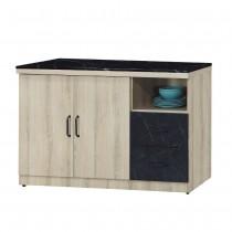 亞倫4尺餐櫃/碗盤櫃(710)(石面)