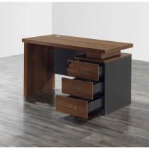 亞克4尺辦公桌(書桌)(含活動櫃)