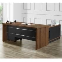 德莫6尺辦公桌組(含側櫃,活動櫃)