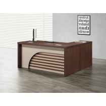 卡拉6尺辦公桌組(含側櫃,活動櫃)