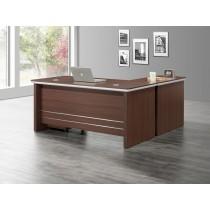 達倫6尺辦公桌組(含側櫃,活動櫃)
