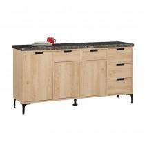 斯麥格5.2尺石面餐櫃/碗盤櫃(下座)