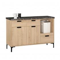斯麥格4尺石面餐櫃/碗盤櫃(下座)