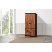 凱爾 2.7 X 6尺雙色衣櫥(積層色)