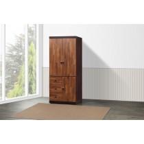 凱爾 2.7 X 7尺雙色衣櫥(積層色)