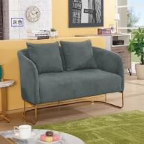 菲爾康二人座布沙發(共兩色)