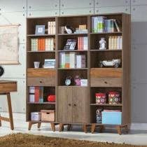 艾倫6尺書櫃組