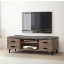 橡木美耐皿仿石5尺電視櫃(P619)