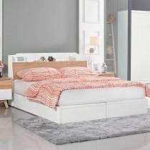 伊森5尺床組(床頭箱+床底)(不含床頭櫃)