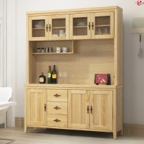 亞道夫5.3尺原木色餐櫃/碗盤櫃(全組)
